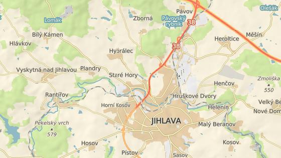 Nové sídliště roste poblíž rybníku Borovinka v severní části Jihlavy.