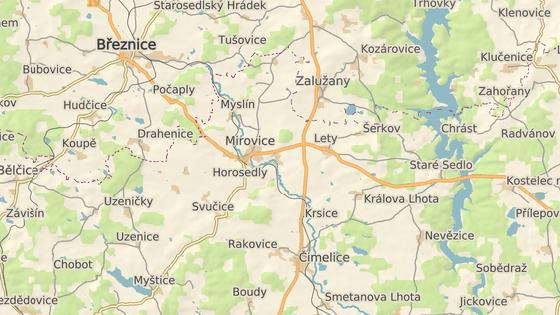 Nehoda se stala na trati mezi Příbramí a Pískem.