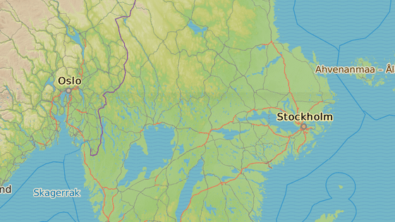 Město Strängnäs se nachází západně od Stockholmu. 081d952082