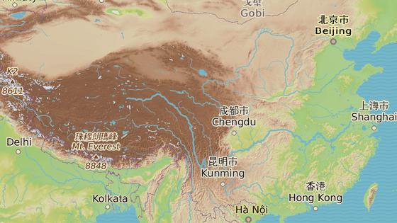 Provincie S'-čchuan.
