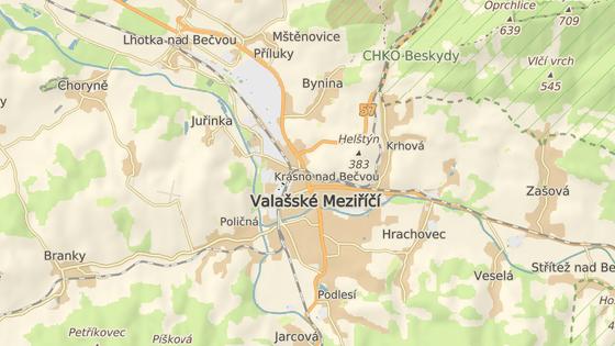 Nehoda se stala v Juřince, která je místní částí Valašského Meziříčí.