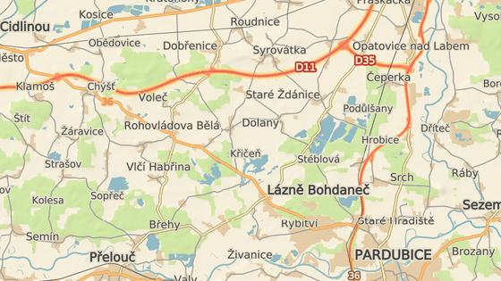 Jeden a půl kilometru dlouhý úsek mezi Volčí a Rohovládovou Bělou bude na více než dva měsíce kompletně uzavřen od pondělí 26. března.