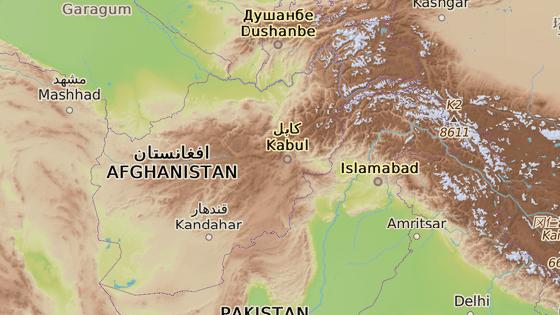 Provincie Badachšán se nachází na severu Afghánistánu.