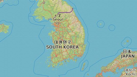 Mirjang, Jižní Korea