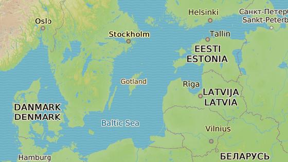 Gotland, Švédsko