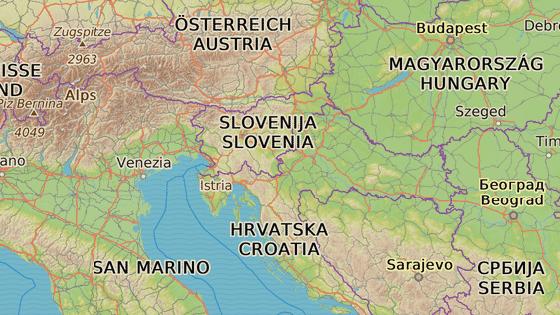 Kolony se tvoří v Chorvatsku a na Slovinsku, zejména na hraničních přechodech a u mýtnic.