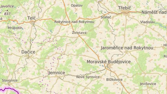 Nehoda se stala nedaleko Mladoňovic na silnici II/152 spojující Jemnici s Moravskými Budějovicemi.