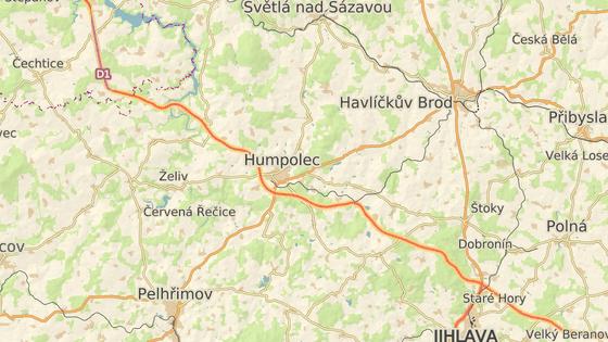 K tragické nehodě došlo na 87. kilometru D1 ve směru na Brno.