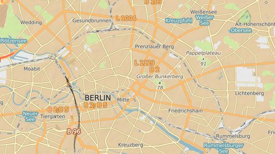 Místo incidentu: Helmholmplatz, Berlín