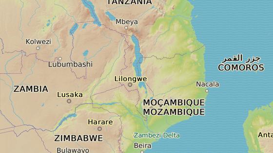 Východoafrické Malawi sousedí s Tanzánií, Zambií a Mosambikem.