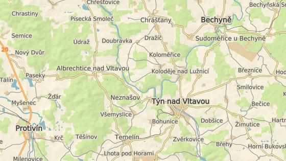 Povodí Vltavy řeku prohloubí v délce necelých dvou kilometrů v katastru obcí Všemyslice a Albrechtice nad Vltavou.