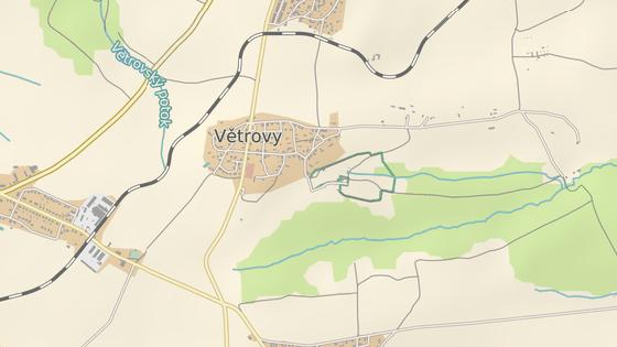 Nová silnice propojí body na mapě.