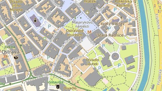 Lokalita leží v centru Ostravy, hned vedle Masarykova náměstí.