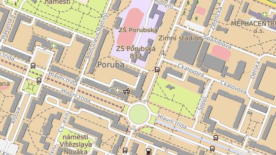 Rekonstruovaný objekt stojí na velmi frekventované části ostravského obvodu.