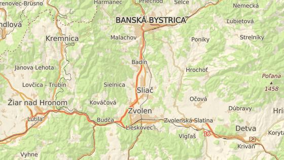Letecká základna ve městě Sliač na Slovensku