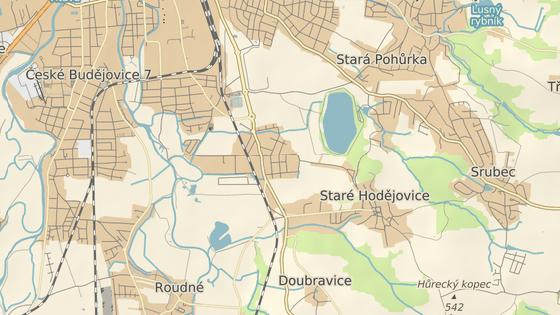 Volnou plochu na jižním okraji Českých Budějovic by chtěl developer zastavět bytovými domy.