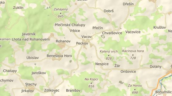 Žena přišla o dvě tašky mezi obcemi Mladíkov a Vacov.