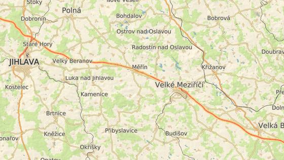 Nehoda se stala na 138. kilometru D1 ve směru na Prahu.