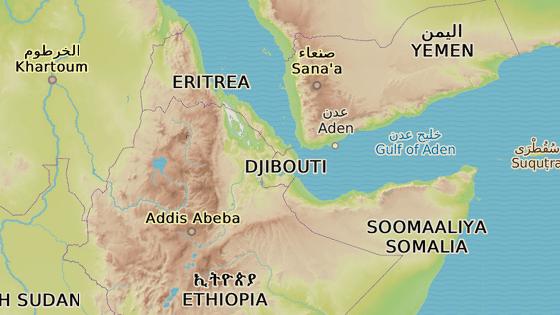 Džibutsko.