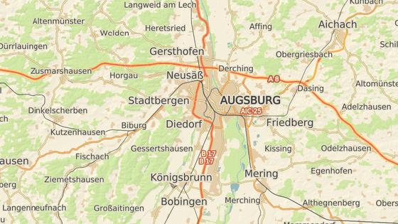 Město Augsburg, kde se uskutečnil 69. sjezd sudetských Němců.