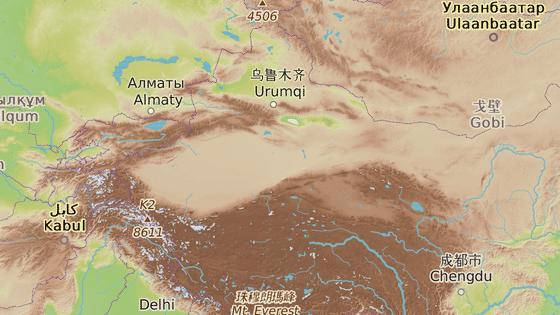 Západní region Sin-ťiang má status autonomní oblasti na úrovni provincie.