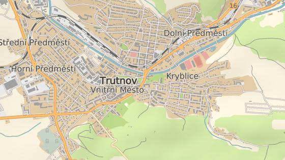 Most přes Úpu na hlavním tahu v Trutnově potřebuje rekonstrukci.