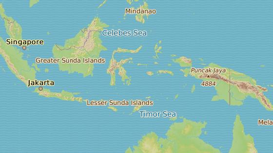 Epicentrum otřesů bylo v hloubce 208 kilometrů v Bandském moři.