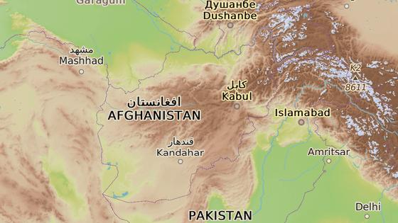 Provincie Kunar, Afghánistán