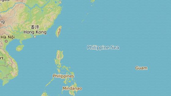 Ostrov Guam leží v severozápadní části Tichého oceánu.