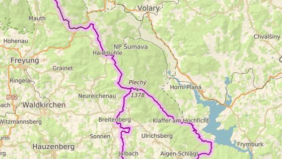 Turista se zranil v místě, kde se střetávají hranice Česka, Německa a Rakouska.