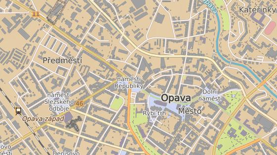 Obchodní dům Breda stojí v centru Opavy.