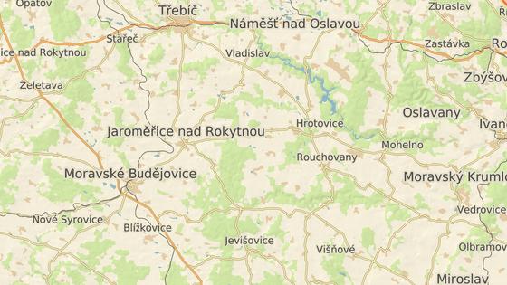 Údolí říčky Rokytné na jihu Třebíčska s tajemnými šachtami.