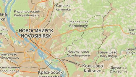 Nádrž se nachází na východ od Novosibirsku.