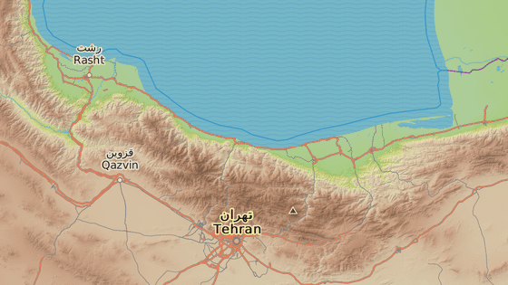 Město Karadž u Teheránu