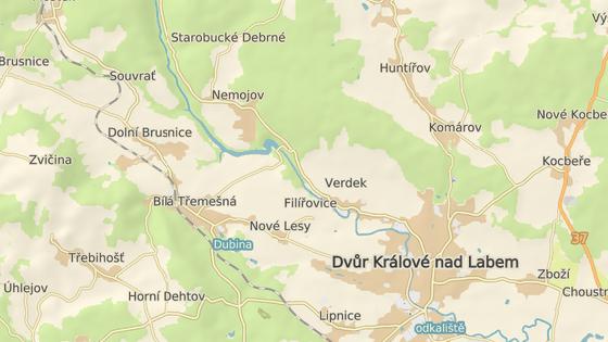 Přehrada Les Království leží na horním toku Labe