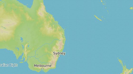 Plavba z Melbourne do Nové Kaledonie a město Eden, kde byla rodina vysazena.