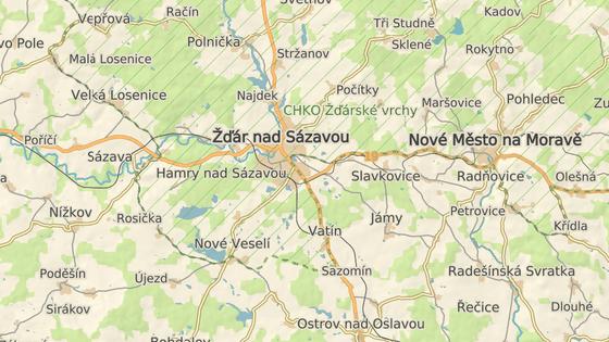 Nový obchvat by měl spojit výpadovky na Brno a na Jihlavu.