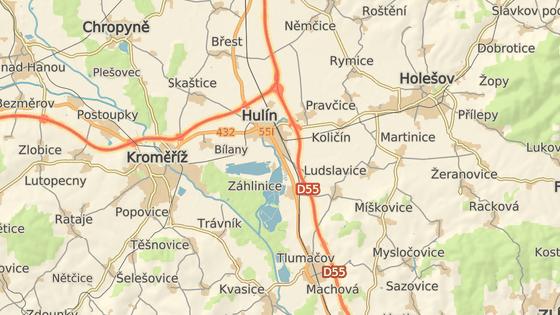 Nehoda se stala na 263. kilometru dálnice D1.