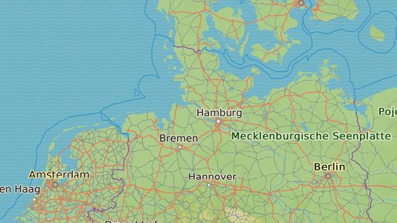 Cuxhaven, Německo