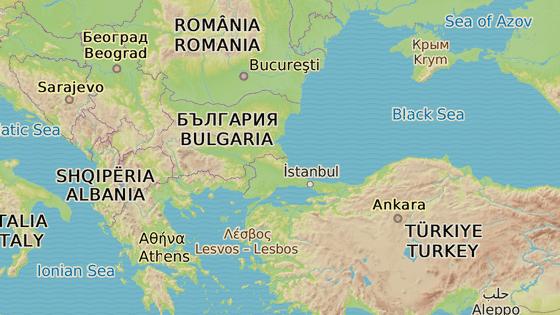 Pozemní hranice Řecka a Turecka měří bezmála 200 kilometrů.