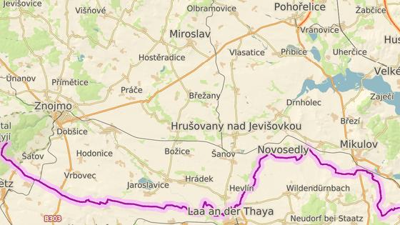 Ke smrtelné nehodě došlo u Lechovic na Znojemsku.