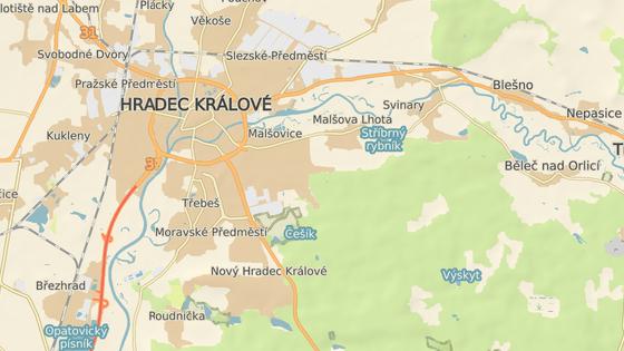 Pozemky mezi Malšovicemi a Malšovickou Lhotou zatím zůstávají prázdné.