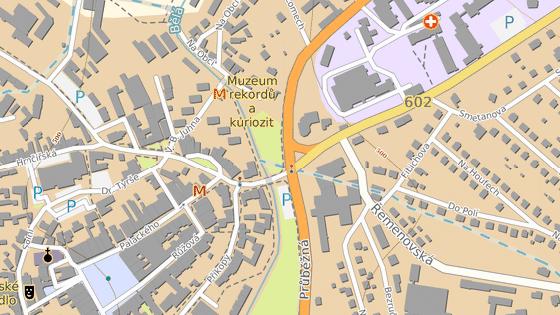 Nehoda se stala ve spodní části Humpolecké ulice v Pelhřimově.