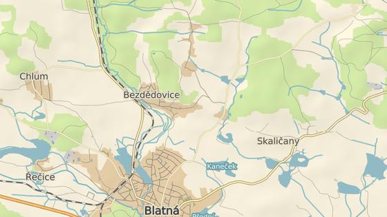 Nehoda se stala mezi obcemi Bezdědovice a Paštiky.