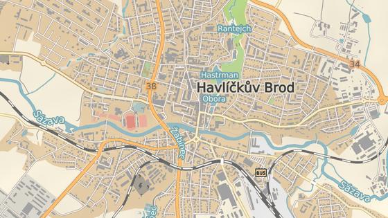 Sídlo ČSOB v Horní ulici v centru Havlíčkova Brodu.