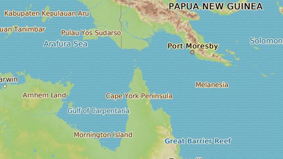 Ostrovy Torresova průlivu jsou součástí Austrálie. Obývá je přibližně 4500 lidí.