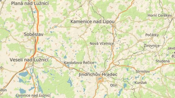 O víkendu byla šelma spatřena v okolí Deštné.