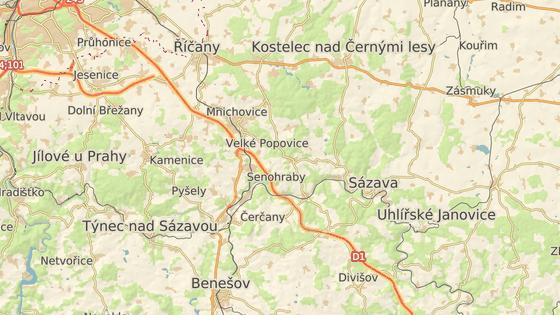 Dva kamiony bouraly na 26. kilometru D1 ve směru na Brno.