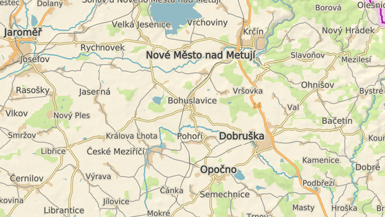 Nehoda v Bohuslavicích nad Metují