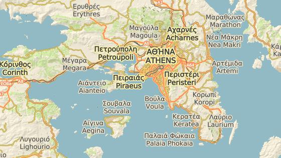 Ostrov Salamis leží zhruba 20 kilometrů na západ od Athén.